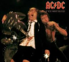 "AC/DC ""If You Want Blood You Got it"" płyta winylowa, vinyl"