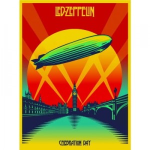 LED ZEPPELIN CELEBRATION DAY (CD + BLU-RAY) DVD BLU-RAY DISC