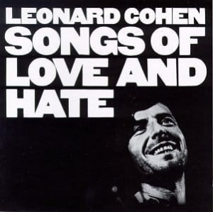 Leonard Cohen - Songs of Love and Hate  winyl płyta winylowa LP