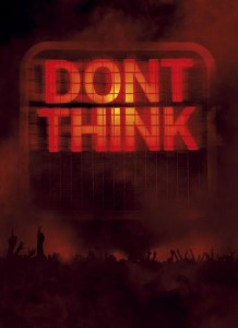 CHEMICAL BROTHERS, THE DON'T THINK - LTD DVD SIZED BOOK DVD DISC