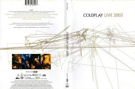 COLDPLAY LIVE 2003 DVD DISC