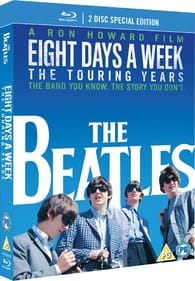 BEATLES EIGHT DAYS A WEEK - THE TOURING YEARS DVD BLU-RAY DISC