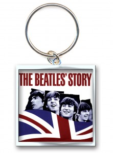 The Beatles Story Photo Print - brylok do kluczy