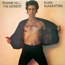 HELL, RICHARD AND VOIDOIDS BLANK GENERATION VINYL ALBUM