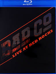 BAD COMPANY  LIVE AT RED ROCKS  DVD BLU-RAY DISC