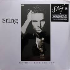 STING ...NOTHING LIKE THE SUN 2LP VINYL ALBUM