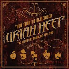 URIAH HEEP YOUR TURN TO REMEMBER: THE DEFINITIVE ANTHOLOGY 1970-1990 VINYL ALBUM