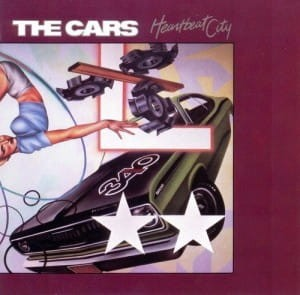 CARS HEARTBEAT CITY VINYL ALBUM