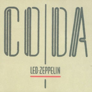 LED ZEPPELIN CODA VINYL ALBUM