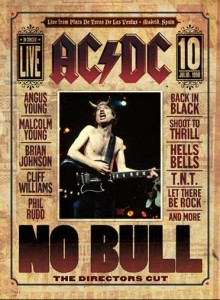AC/DC - - No Bull The Directors Cut  dvd