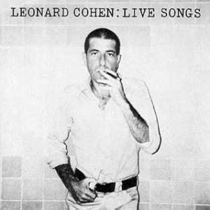 "Leonard Cohen ""Live Songs"" CD"