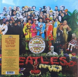 BEATLES SGT. PEPPER'S LONELY HEARTS CLUB BAND - ANNIVERSARY EDITIONS 2LP VINYL ALBUM