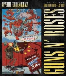 GUNS N' ROSES APPETITE FOR DEMOCRACY: LIVE AT THE HARD ROCK CASINO (PL) DVD DISC