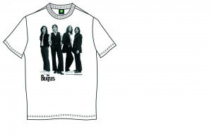 The Beatles Icon Koszulka T-Shirt męski