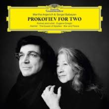 ARGERICH, MARTHA  PROKOFIEV FOR TWO  VINYL ALBUM
