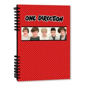 One Direction A5 Notebook