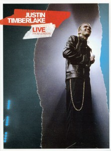 Justin Timberlake - Live from London  dvd