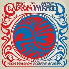 CLAPTON, ERIC & WINWOOD, STEVE LIVE FROM MADISON SQUARE GARDE CD ALBUM
