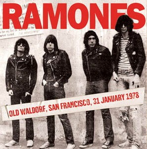 Ramones -  Old Waldorf, San Francisco, 31 January 1978  płyta winylowa (winyl)