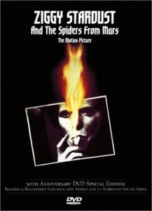 BOWIE, DAVID ZIGGY STARDUST AND THE SPIDERS FROM MARS DVD DISC