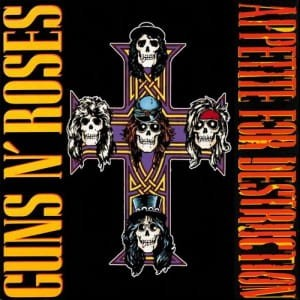 "Guns N' Roses ""Appetite for Destruction"" płyta winylowa (winyl)"