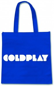 Coldplay Eco-Torba