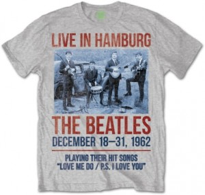 The Beatles koszulka T-shirt męski 1962 Live in Hamburg