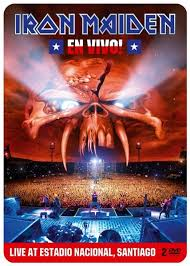 IRON MAIDEN EN VIVO ! (SPECIAL DVD) DVD DISC