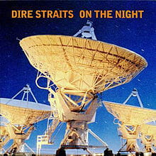 DIRE STRAITS ON THE NIGHT CD ALBUM