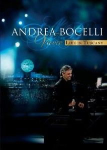 BOCELLI, ANDREA VIVERE GREATEST HITS DVD BLU-RAY DISC