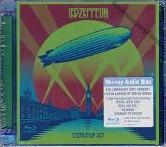 "Led Zeppelin ""Celebration Day"" Blu-ray Audio Disc"