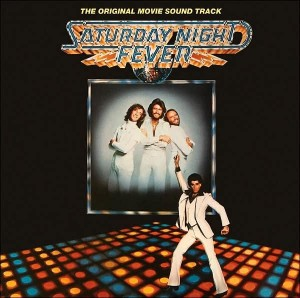 SOUNDTRACK SATURDAY NIGHT FEVER 2LP VINYL ALBUM