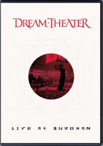 DREAM THEATER LIVE AT BUDOKAN DVD DISC