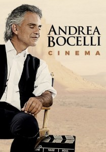 BOCELLI, ANDREA CINEMA DVD BLU-RAY DISC