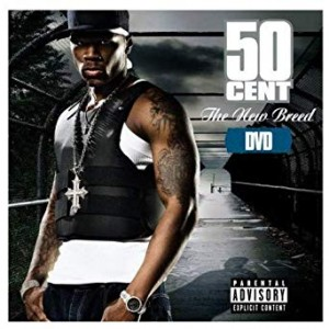 50 CENT THE NEW BREED DVD DISC