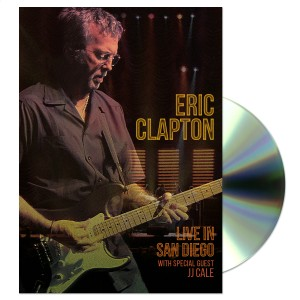 CLAPTON, ERIC LIVE IN SAN DIEGO (WITH SPECIAL GUEST JJ CALE) DVD DISC