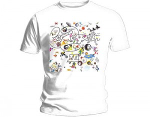 Led Zeppelin Iii Cover Wht Koszulka T-Shirt
