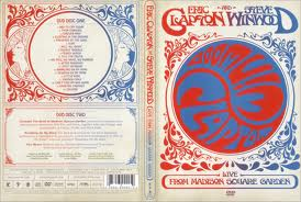 CLAPTON, ERIC & WINWOOD, STEVE LIVE FROM MADISON SQUARE GARDE DVD DISC