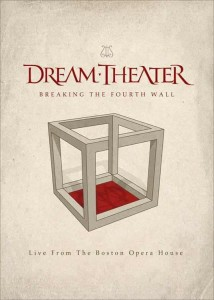 DREAM THEATER BREAKING THE FOURTH WALL (LIVE FROM THE BOSTON OPERA HOUSE) - DVD DVD DISC