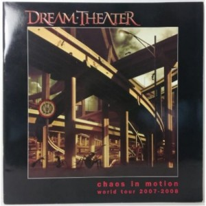 DREAM THEATER CHAOS IN MOTION 2007-8 DVD DISC