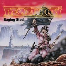 DEATHROW RAGING STEEL VINYL ALBUM